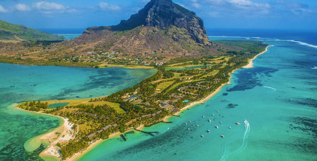 Op het eiland Mauritius