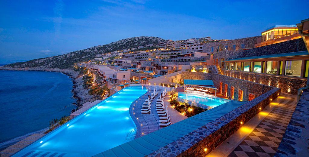 Een spectaculair resort met uitzicht over het water!