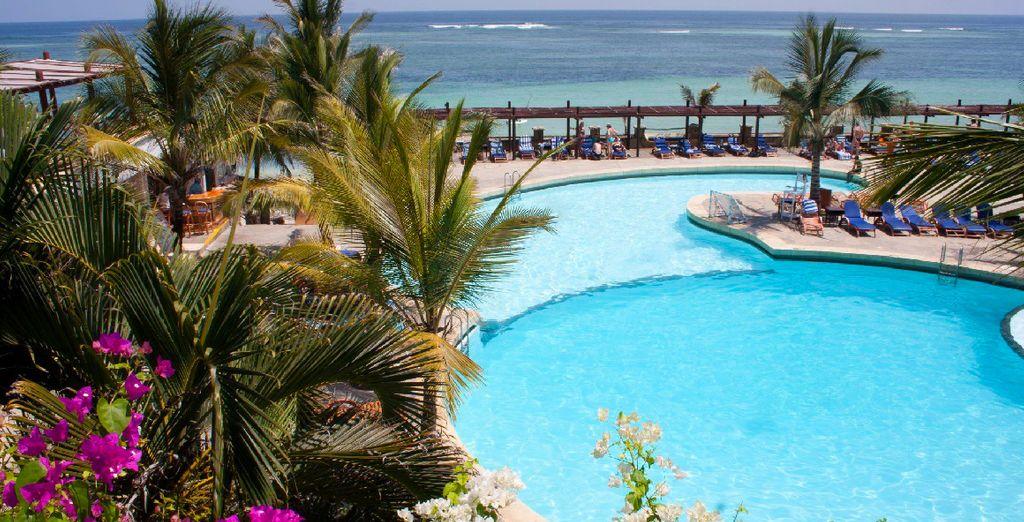 Het Leopard Beach Resort & Spa is een waar paradijsje