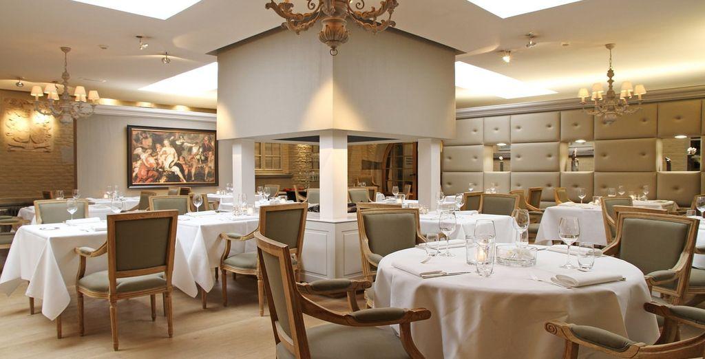 Voor streekgebonden gerechten gaat u naar 'Le Bistrot'