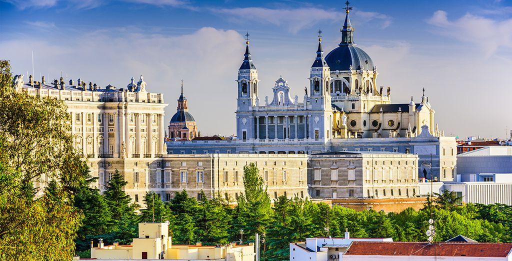 Het prachtige Koninklijk Paleis...