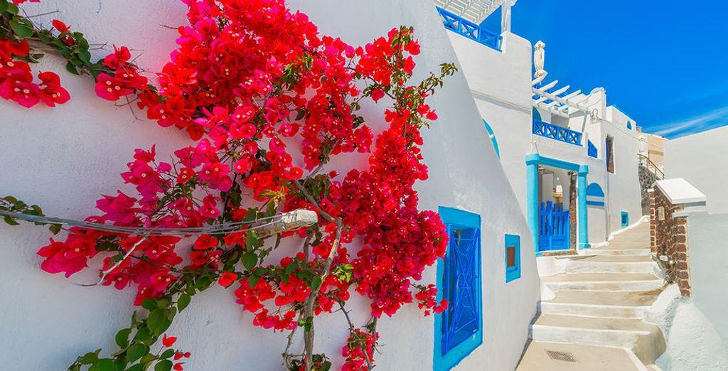 Laat u betoveren door de typische architectuur van de Cycladen