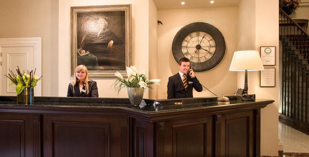 Dit prachtige hotel biedt een uitstekende service