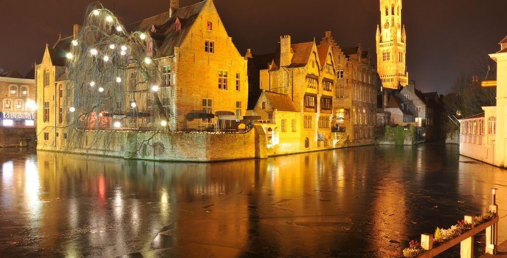 Brugge in winterse sferen