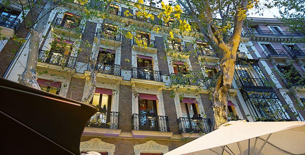 Welkom in het Hotel Hospes Puerta de Alcala 5*