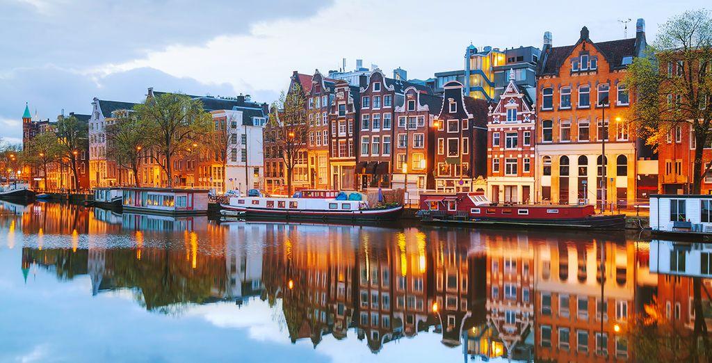 Neem de tijd om Amsterdam te ontdekken