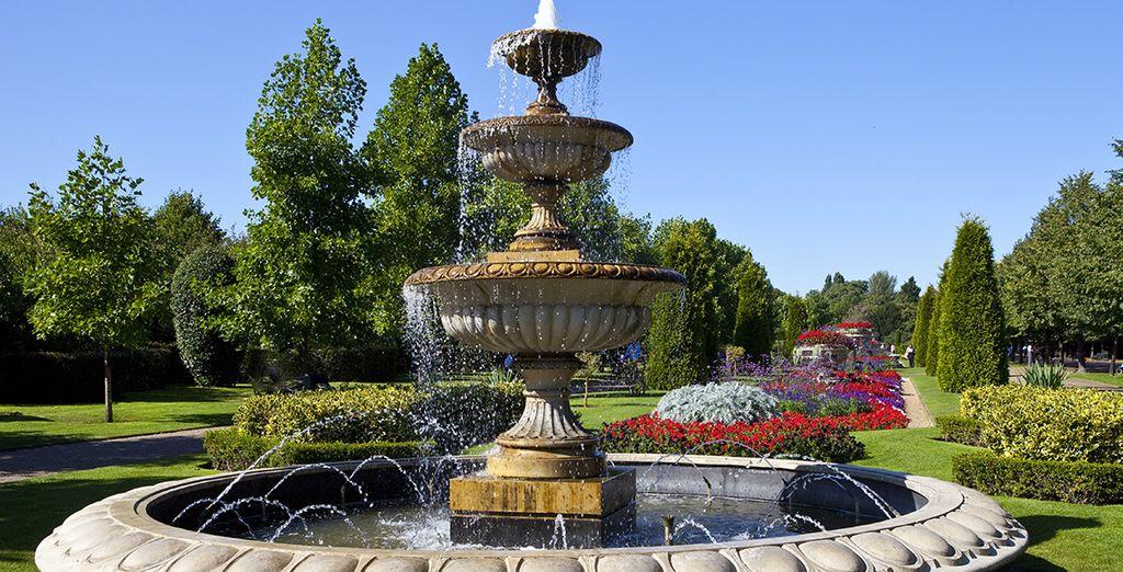 U bent vlakbij de meest koninklijke parken van de stad