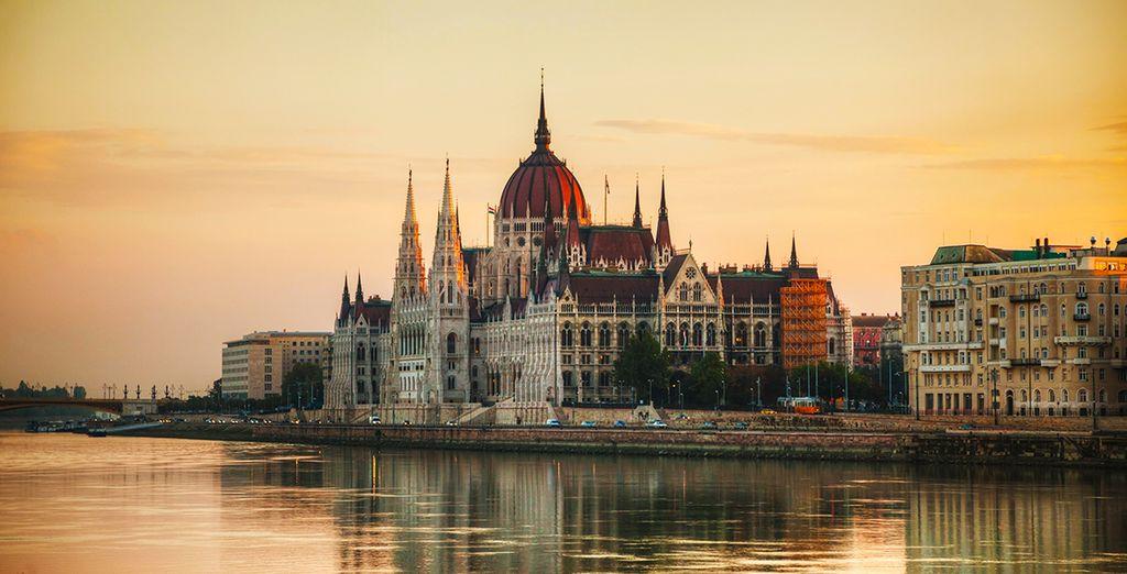Wandel door de pittoreske straten van de Hongaarse hoofdstad