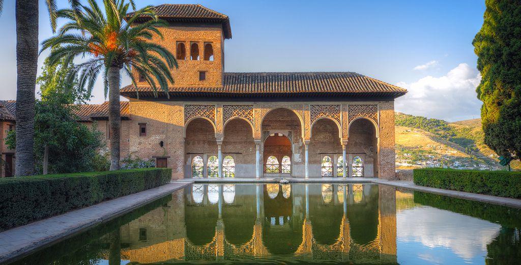... om het prachtige Alhambra te bezichtigen