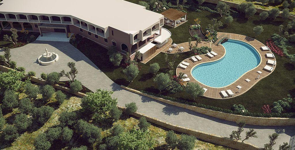 Een ultra luxe resort