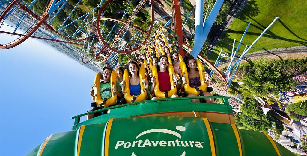 Breng een bezoekje aan attractiepark PortAventura