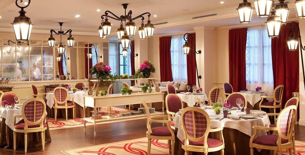 Een verfijnd en elegant restaurant
