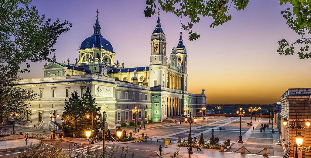Ideaal gelegen in het centrum van Madrid