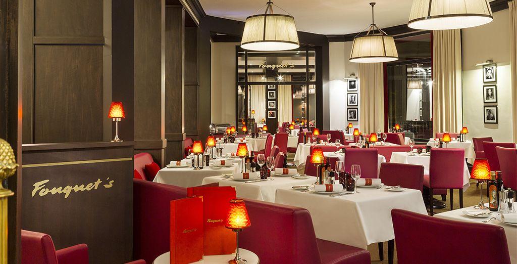 Een gastronomische pauze in restaurant Fouquet's