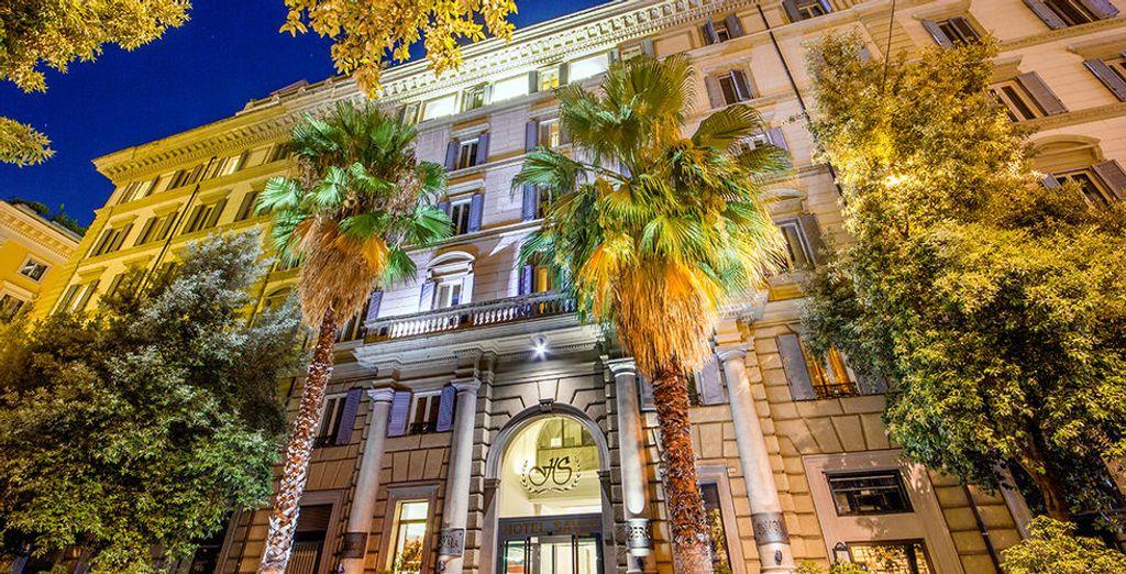 Welkom in het Hotel Savoy 4*