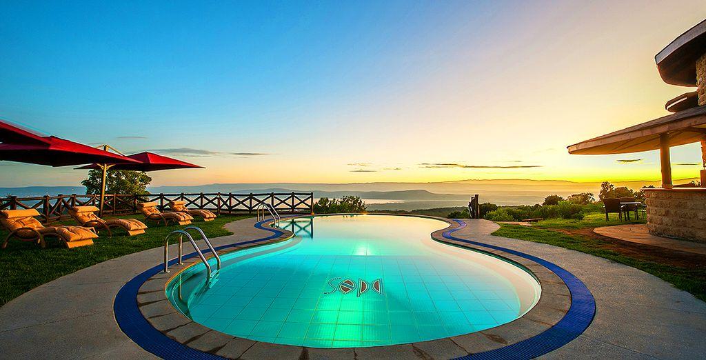 Prachtige faciliteiten (afgebeeld: Lake Nakuru Sopa Lodge)