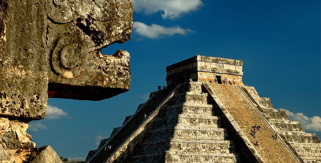 U kunt een rondreis van 3 nachten door Yucatan toevoegen