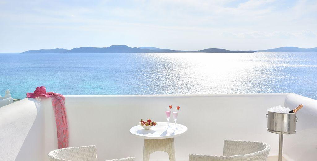 Het uitzicht vanaf uw balkon is fantastisch!