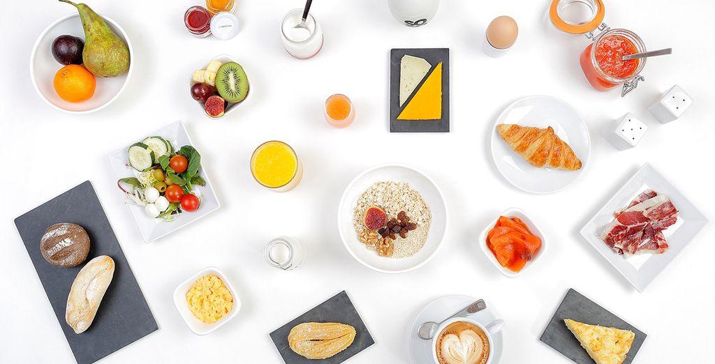 Uw dagelijkse ontbijt is inbegrepen in deze aanbieding