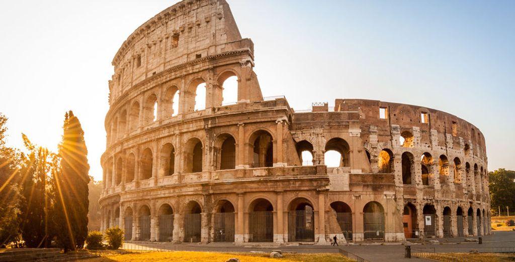 Een bezoek aan het Colosseum mag zeker niet ontbreken