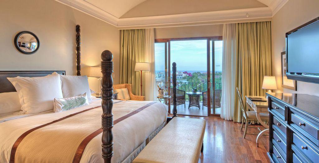Geniet van het comfort van uw Double Resort View Kamer