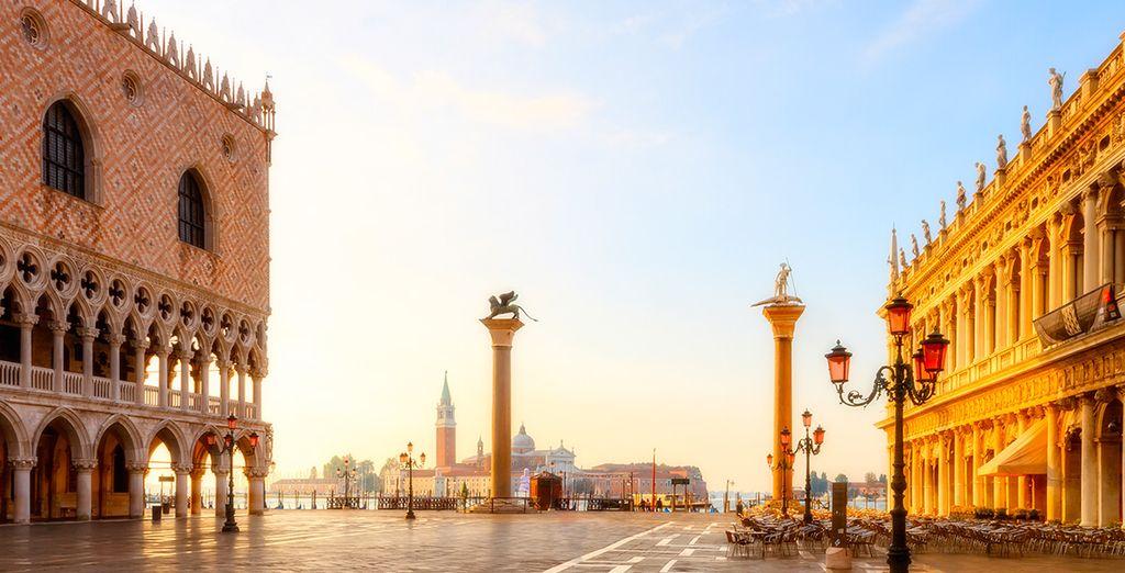 U verblijft op een steenworp afstand van het San Marco plein