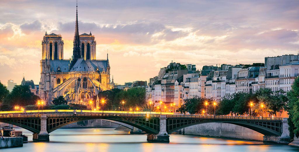Op naar de Franse hoofdstad!