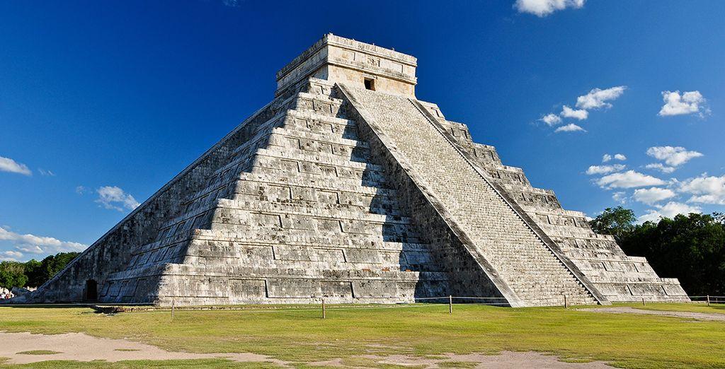 En bekende archeologische sites zoals de piramide van Chichen Itza