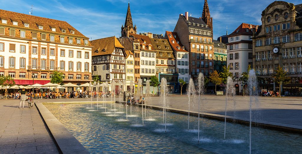 Go discover the beautiful city of Strasbourg