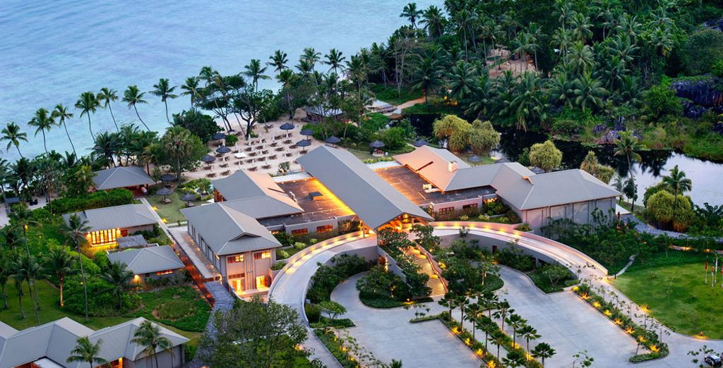 And unpack your bags in the Kempinski Seychelles Resort