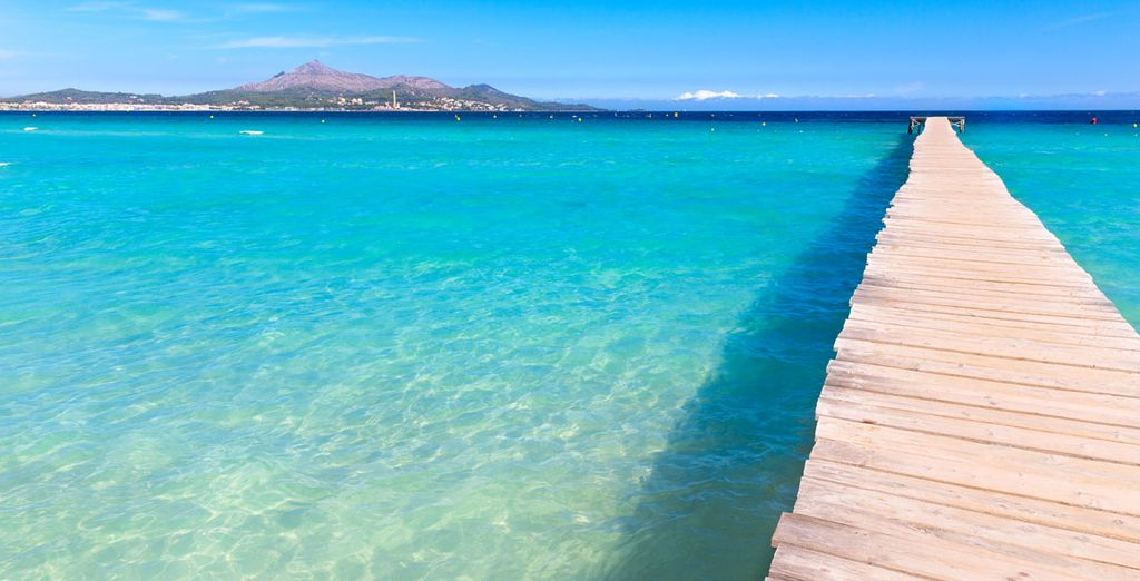 Discover The Balearic Islands and its white sand beaches
