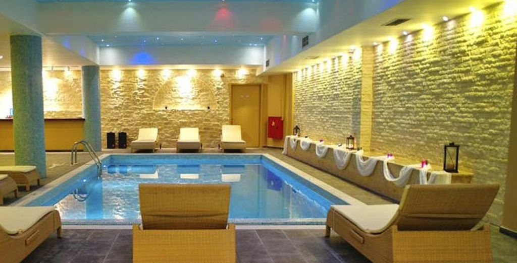 Pamper yourself in the luxurious SPA