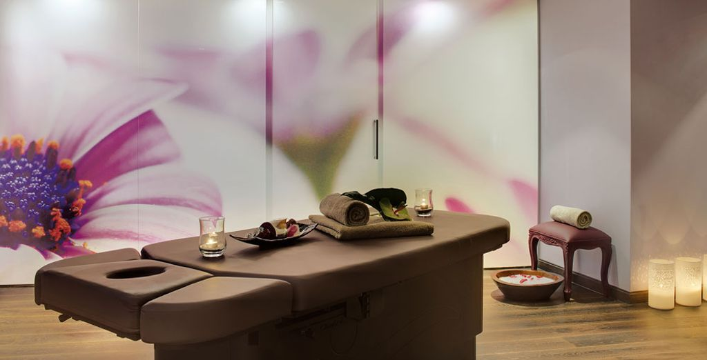 Take a time out for your well-being in the Spa