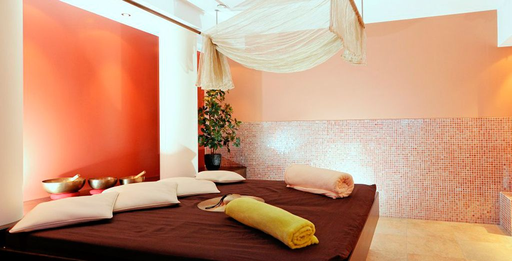 Or indulge in a relaxing massage treatment