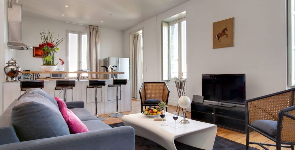 The 85 m² Apartment has everything you need