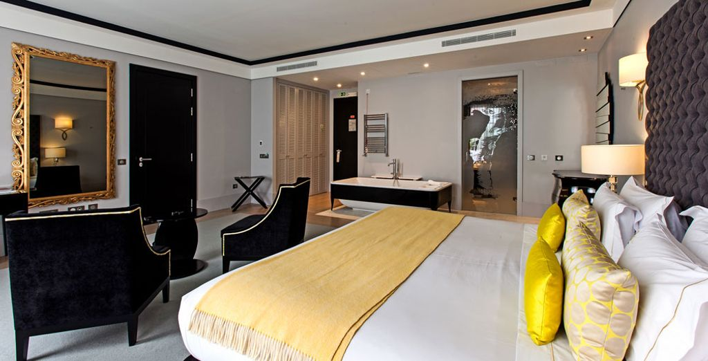 Opt for the Family Suite