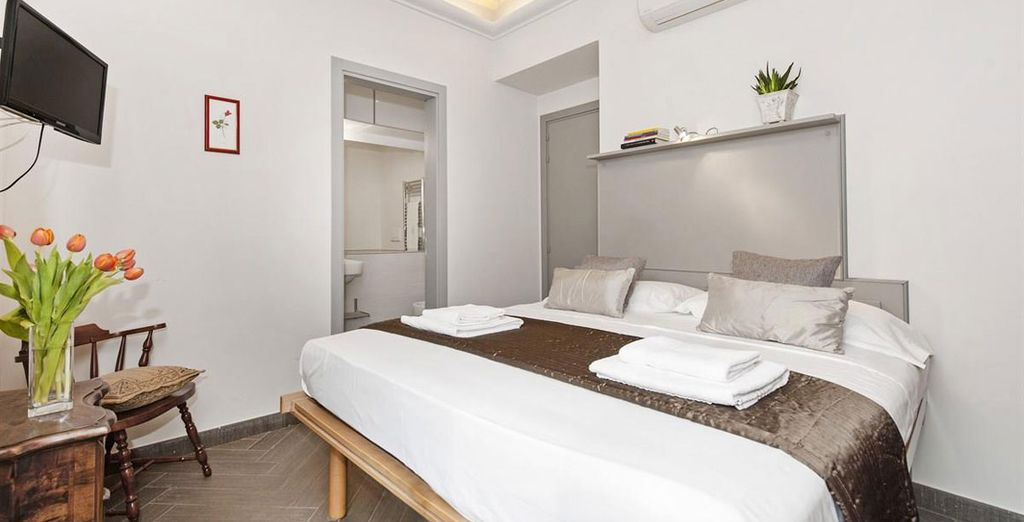 Apartment 2: Luxuriously decorated - with 1 double bedroom