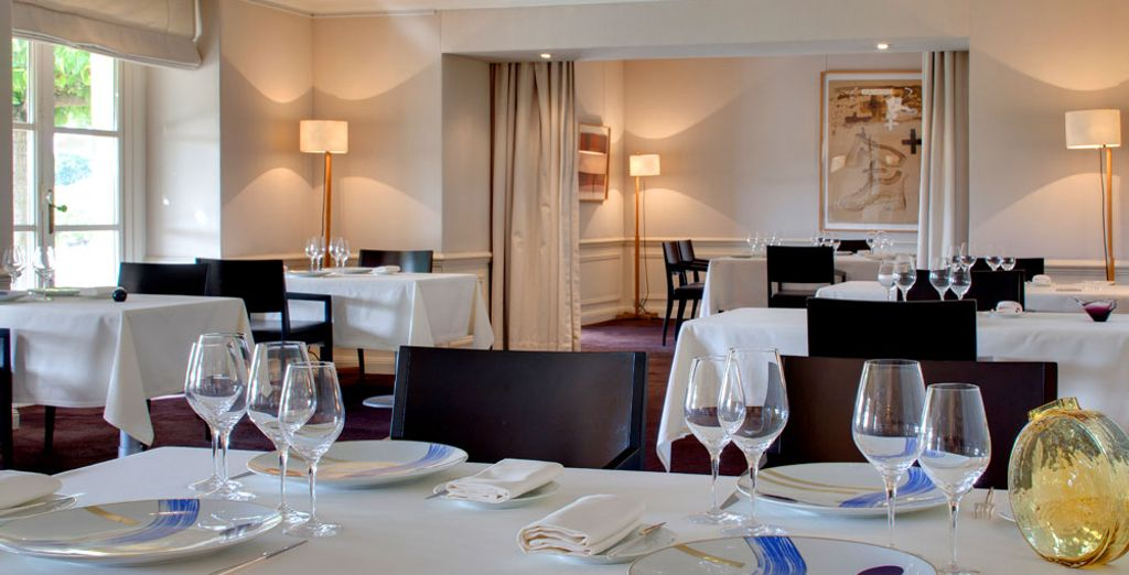 Then taste chef Jean-Luc Rocha's delicious dishes
