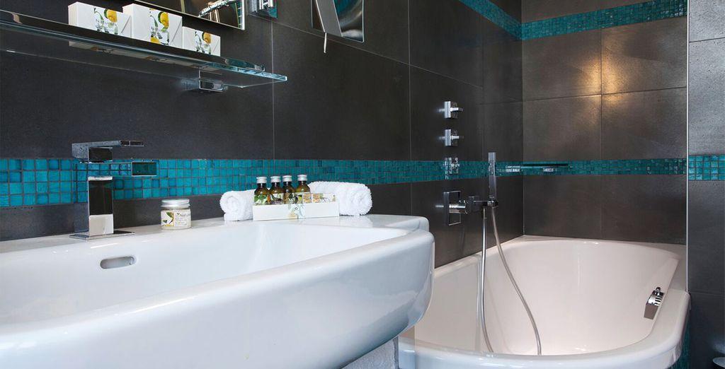 Each room has excellent facilities