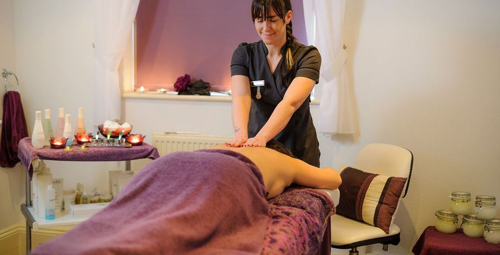 As well as a wide range of soothing treatments