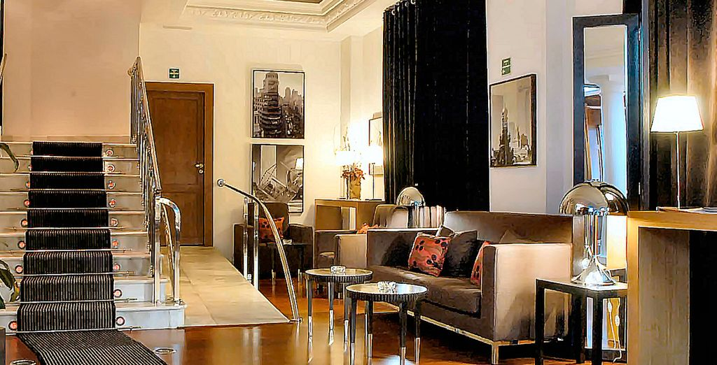 Stay in a design hotel in the heart of Madrid