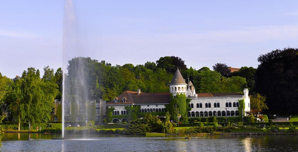 Immerse yourself in a fairy tale 20 minutes from Brussels ...