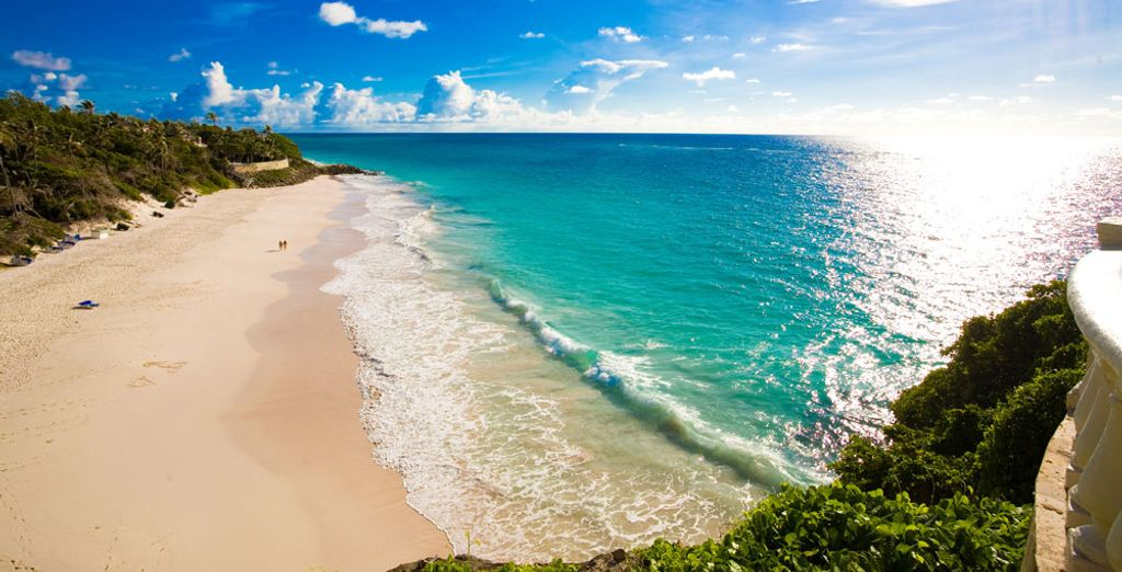 Take a relaxing walk on the beaches of Barbados