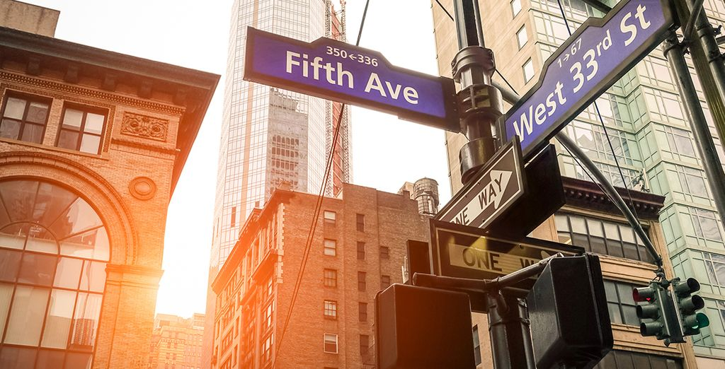 Not far from the famous Fifth Avenue