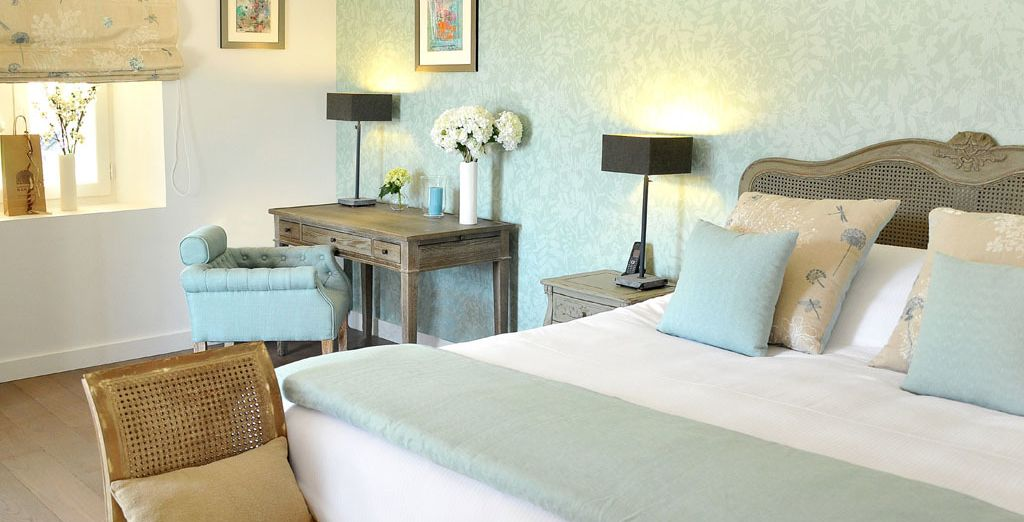Opt for the Deluxe Premium Room