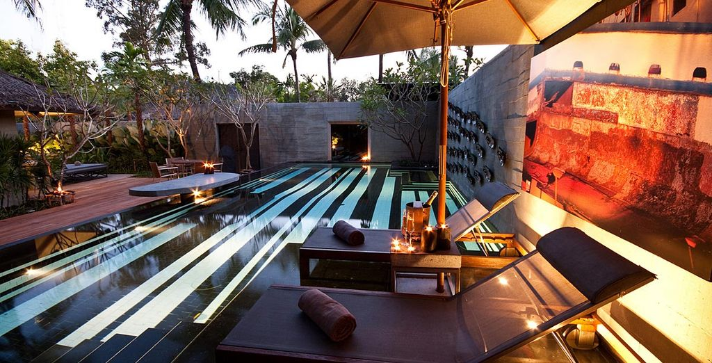 Or go for the Pool Villa with private pool
