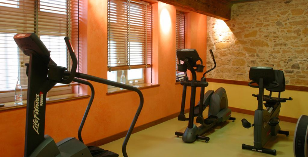 Make the most of the facilities in the cardio-training room