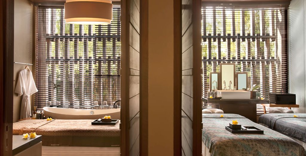 Take a break for your well-being with a visit to the Spa...