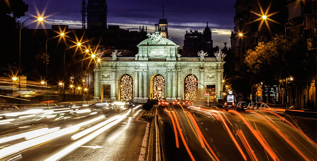 Discover all the attractions that Madrid has to offer