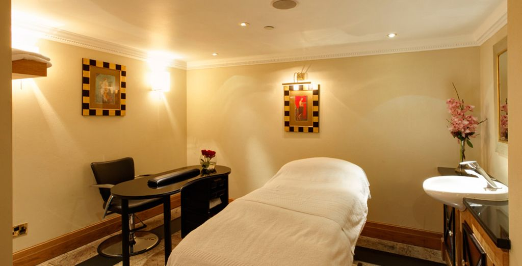 Reward yourself with a massage treatment